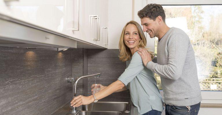 permaster sanus perma-trade Küche Einbau Trinkwasserfilter Wasserhahn vital premium und permaquell Mikroplastik Filter