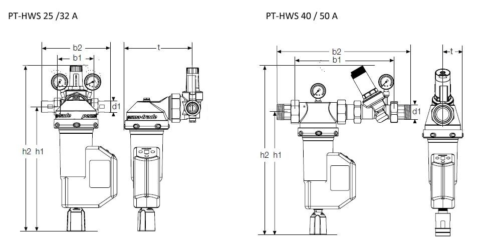 permaster black automatik filter druckminderer kombination. Black Bedroom Furniture Sets. Home Design Ideas