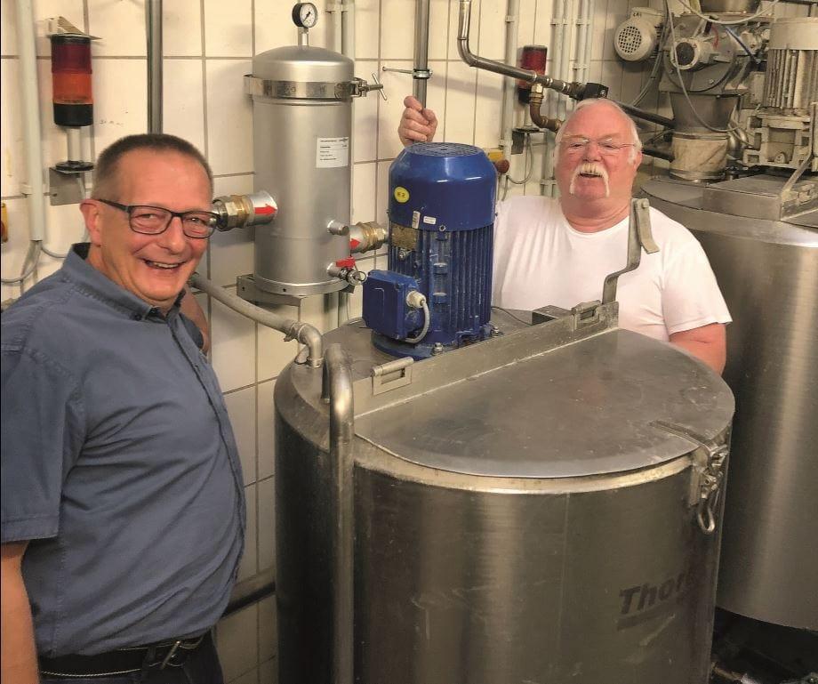 Trinkwasserfilter Wasserfilter Industrie Gerads Bäckerei perma-trade Wassertechnik